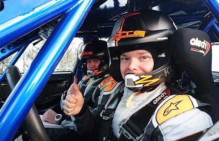 RTE Motorsport Janne Eronen ja Kumho rallirenkaat