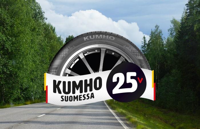 kumho 25 vuotta suomessa