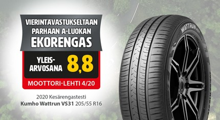 kesärengastesti 2020 vs31 ekorengas