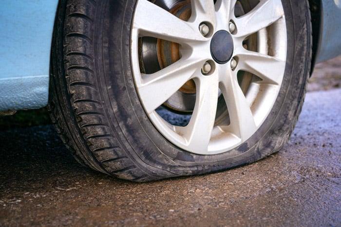 viimeistään silloin kun rengas on tyhjä on aika laittaa renkaat vaihtoon